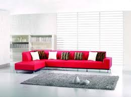 Red Sofa Sectional 18 Stylish Modern Red Sectional Sofas