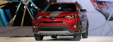 toyota uxs 2018 toyota rav4 adventure performance features us release date