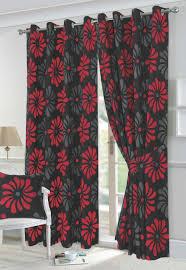 Black Floral Curtains Curtain Blue And Curtains Curtain Unique Photos Inspirations