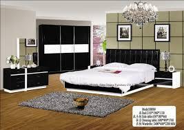 Black White Bedroom Furniture Bedroom Sets White And Black Color Included Bed Wardrobe Bestand