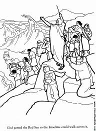 crossing the jordan coloring page coloring home