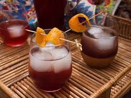 sparkling pomegranate pitcher cocktail recipe serious eats