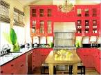 Natural Colorful Kitchen Design Ideas Bright Pink Kitchen Best ...