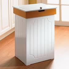 kitchen inspiring wooden kitchen trash bin country kitchen trash