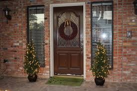decoration cozy image of christmas front porch decoration design