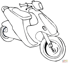 bike colouring coloring pages fleasondogs org
