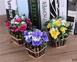 Decorative Flowers For Home by Popular Silk Rose Arrangements Buy Cheap Silk Rose Arrangements