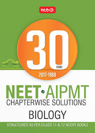 30 years neet aipmt chapterwise solutions biology 2018
