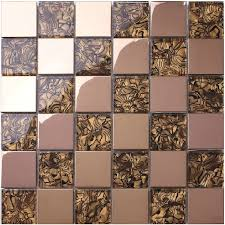 Online Get Cheap Gold Kitchen by Crystal Kitchen Backsplash Tiles Steel Covers Mosaics Rose Gold