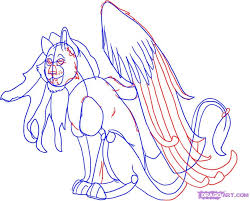 how to draw a fairy tiger step by step concept art fantasy