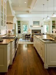 kitchen family room flooring houzz