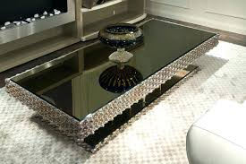 mirrored glass coffee table black mirror coffee table black mirrored trunk coffee table pk8 info