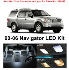 lighting stores lincoln ne free shipping 6pcs lot car styling xenon white package kit led