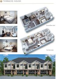 terraced house floor plans floor plan for semi detached terraced and flats houses woodbury