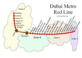 Metro Station Map by Map Of Dubai Metro U2013 Map Of World