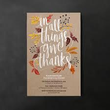 thanksgiving dinner invitations jackie jané
