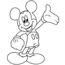 mickey mouse coloring sheets free printable coloring pages