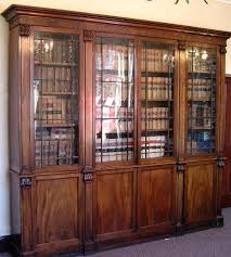 Mahogany Bookcase With Glass Doors Bookcases With Glass Doors Antique Mahogany Bookcase Amazing