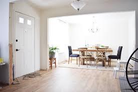 Dining Room Entryway by A Simple Easy Diy Entryway Casing U2013 Almafied Com
