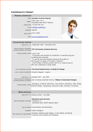 Chronological Resume Samples Pdf by Format Of Standard Resume Free Resume Example And Writing Download