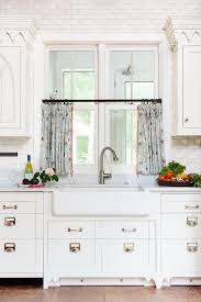 White Cafe Curtains Ultimate Choices Of Half Curtain Design For Home Decohoms