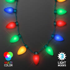 light necklace images Jumbo bulbs christmas lights necklace 13 multicolor jpg
