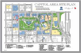 Capitol Building Floor Plan Capitol Square Site Plan Ninth Street Office Building Is Shown In