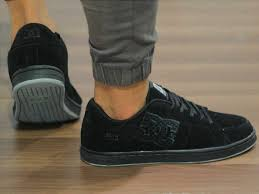 Gambar Sepatu Dc Ori jual sepatu dc skaters black g footwear