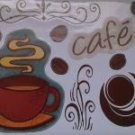 Coffee Wall Decor For Kitchen Kitchen Modern Black Wall Decal For Coffee Kitchen Decor Using