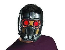 halloween gas mask costume rocket racoon cap and star lord mask show up as exclusive items in