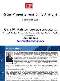 fl ccim retail feasibility analysis pdf shopping mall retail