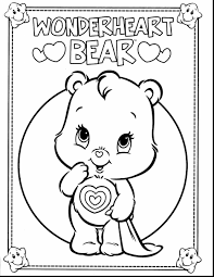 remarkable howleen wolf coloring pages cheer with care bear