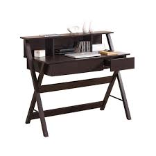 writing desk with shelves elegant writing desk with storage and hutch techni mobili