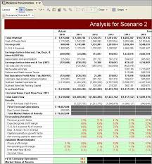 Discounted Flow Analysis Excel Template Statement Analysis Template Best Template Collection
