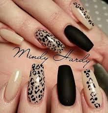 Black Manicure Designs Coolest Black Nail Designs For