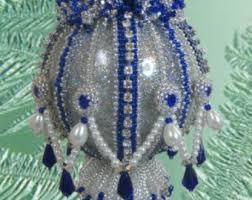 tutorial noelle beaded ornament cover seed bead