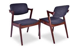 Modern Furniture Houston by Modern Furniture Store Houston Marcy Dining Chair Set Of 2 Dark