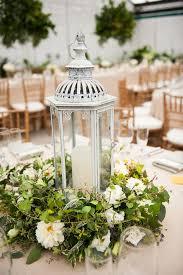 Wedding Centerpiece Lantern by Beautiful Garden Inspired Lantern Centerpiece Flowers By