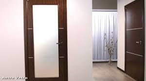 modern interior glass doors astra vetro modern interior door in a wenge finish hd youtube