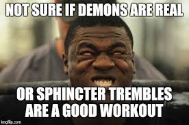 Demon Memes - image tagged in demon possession imgflip