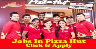 jobs in pizza hut jobmarshal