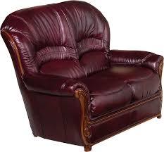 sara full leather leather classic 3 pcs sets living room furniture
