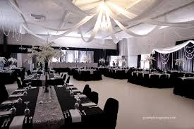 black and white wedding decorations wedding decor by dar s decorating with grey and silver damasks