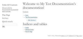 html themes sphinx install and use sphinx documentation generator on centos 7 1 1