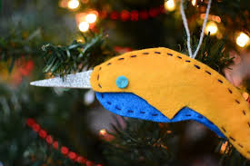diy narwhal ornament living on grace