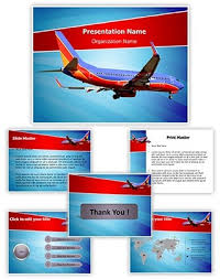 professional southwest airlines editable powerpoint template
