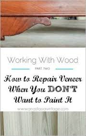 Fix Scratches In Wood Furniture by Fast Fixes For Wood Furniture Wobbly Legs Repair Veneer Split