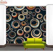 shinehome cute circle bubble 3d photo wallpaper for walls 3 d