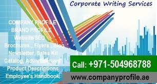 company profile writing highly professional 0504968788 company profile writing
