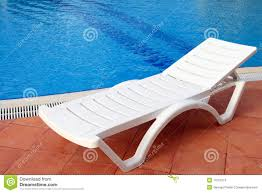 Pool Chairs Relax Chair Near The Pool Stock Photos Image 11521013